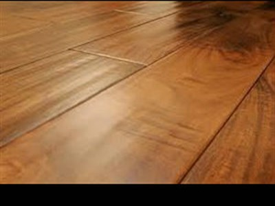 Hardwood flooring adds value and warmth to a home
